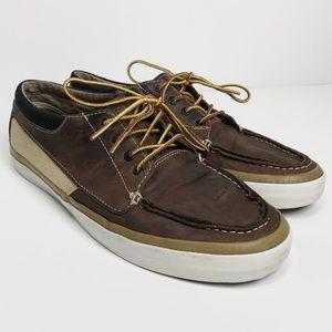 Vans Boat Shoe Leather Vintage
